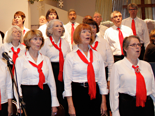 Women of the Healdsburg Chorus